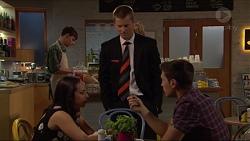 Imogen Willis, Daniel Robinson, Josh Willis in Neighbours Episode 7282