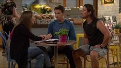 Piper Willis, Josh Willis, Brad Willis in Neighbours Episode 7282