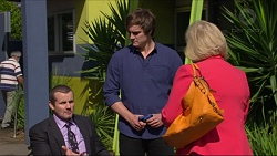 Toadie Rebecchi, Kyle Canning, Sheila Canning in Neighbours Episode 7283