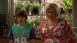 Jimmy Williams, Sheila Canning in Neighbours Episode 7284