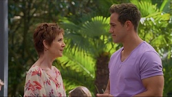 Susan Kennedy, Aaron Brennan in Neighbours Episode 7284