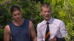 Tyler Brennan, Daniel Robinson in Neighbours Episode 7285