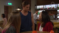 Piper Willis, Tyler Brennan, Imogen Willis in Neighbours Episode 7285