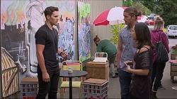 Josh Willis, Tyler Brennan, Imogen Willis in Neighbours Episode 7286