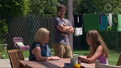 Sheila Canning, Kyle Canning, Xanthe Canning in Neighbours Episode 7286