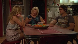 Xanthe Canning, Sheila Canning, Kyle Canning in Neighbours Episode 7286