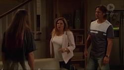 Piper Willis, Terese Willis, Brad Willis in Neighbours Episode 7287