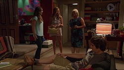 Amy Williams, Xanthe Canning, Sheila Canning, Kyle Canning in Neighbours Episode 7287