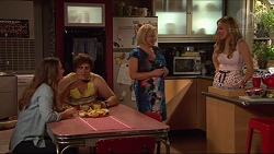 Amy Williams, Kyle Canning, Sheila Canning, Xanthe Canning in Neighbours Episode 7287