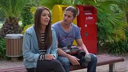 Paige Novak, Tyler Brennan in Neighbours Episode 7287