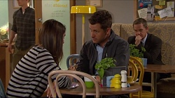 Paige Smith, Mark Brennan, Paul Robinson in Neighbours Episode 7288
