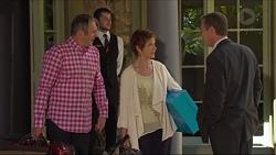 Karl Kennedy, Susan Kennedy, Paul Robinson in Neighbours Episode 7288