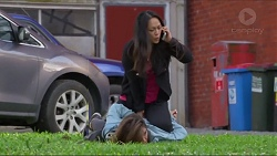 Michelle Kim, Paige Smith in Neighbours Episode 7288