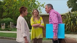 Susan Kennedy, Sonya Rebecchi, Karl Kennedy in Neighbours Episode 7289