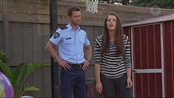 Mark Brennan, Paige Smith in Neighbours Episode 7289