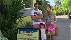Aaron Brennan, Sonya Rebecchi, Nell Rebecchi in Neighbours Episode 7290