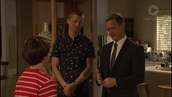 Jimmy Williams, Daniel Robinson, Paul Robinson in Neighbours Episode 7290