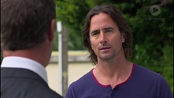 Paul Robinson, Brad Willis in Neighbours Episode 7290