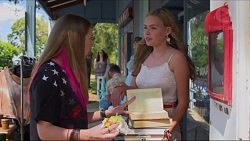 Piper Willis, Xanthe Canning in Neighbours Episode 7291