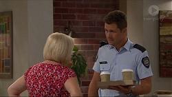 Sheila Canning, Mark Brennan in Neighbours Episode 7291