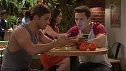 Tyler Brennan, Josh Willis in Neighbours Episode 7291