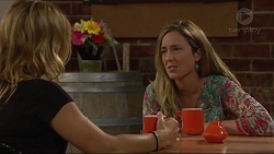 Steph Scully, Sonya Rebecchi in Neighbours Episode 7291