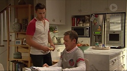 Josh Willis, Paul Robinson in Neighbours Episode 7291