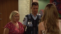 Sheila Canning, Mark Brennan, Amy Williams in Neighbours Episode 7291