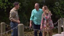 Nigel Deme, Karl Kennedy, Sonya Mitchell in Neighbours Episode 7292