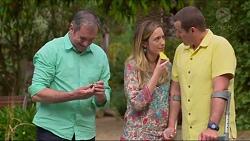 Karl Kennedy, Sonya Mitchell, Toadie Rebecchi in Neighbours Episode 7292