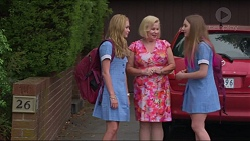 Xanthe Canning, Sheila Canning, Piper Willis in Neighbours Episode 7293