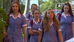 Piper Willis, Alison Gore, Xanthe Canning in Neighbours Episode 7293