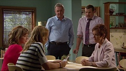 Lyn Scully, Steph Scully, Karl Kennedy, Toadie Rebecchi, Susan Kennedy in Neighbours Episode 7293