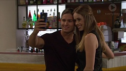 Tyler Brennan, Courtney Grixti in Neighbours Episode 7294