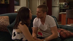 Imogen Willis, Daniel Robinson in Neighbours Episode 7294