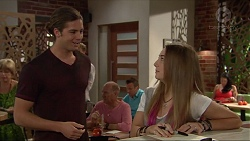 Tyler Brennan, Piper Willis in Neighbours Episode 7294