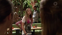 Tyler Brennan, Piper Willis, Courtney Grixti in Neighbours Episode 7294