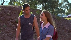 Tyler Brennan, Piper Willis in Neighbours Episode 7295