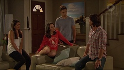 Paige Novak, Imogen Willis, Josh Willis, Brad Willis in Neighbours Episode 7295