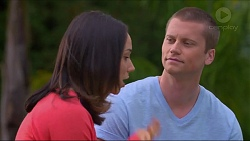 Imogen Willis, Daniel Robinson in Neighbours Episode 7295