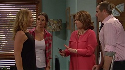 Steph Scully, Amy Williams, Lyn Scully, Toadie Rebecchi in Neighbours Episode 7296