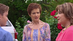Charlie Hoyland, Susan Kennedy, Lyn Scully in Neighbours Episode 7296