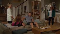 Lauren Turner, Piper Willis, Josh Willis, Terese Willis in Neighbours Episode 7296