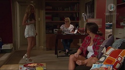 Xanthe Canning, Sheila Canning, Amy Williams in Neighbours Episode 7296