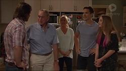 Brad Willis, Doug Willis, Lauren Turner, Josh Willis, Piper Willis in Neighbours Episode 7296