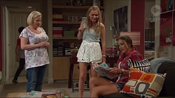 Sheila Canning, Xanthe Canning, Amy Williams in Neighbours Episode 7296