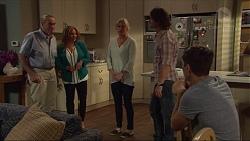 Doug Willis, Terese Willis, Lauren Turner, Brad Willis, Josh Willis in Neighbours Episode 7296