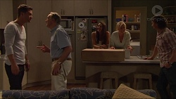 Mark Brennan, Doug Willis, Paige Novak, Lauren Turner, Brad Willis in Neighbours Episode 7297