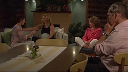 Susan Kennedy, Steph Scully, Lyn Scully, Toadie Rebecchi in Neighbours Episode 7297
