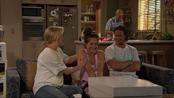 Lauren Turner, Paige Novak, Brad Willis, Doug Willis in Neighbours Episode 7297